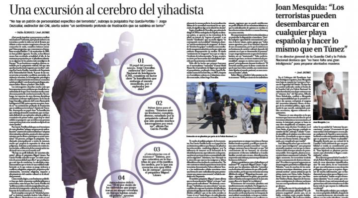 Una excursión al cerebro del Yihadista. La Nueva España entrevista a Esther Blanco y Andrés Calvo, directores de la Clínica Persum