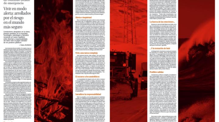 Colaboración de la Clínica Persum en el especial Siglo XXI de La Nueva España: Vivir en modo alerta