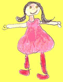 Dibujo de una madre realizado por su hija