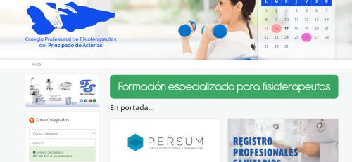 Convenio entre el Colegio Profesional de Fisioterapeutas del Principado de Asturias y la Clínica Persum