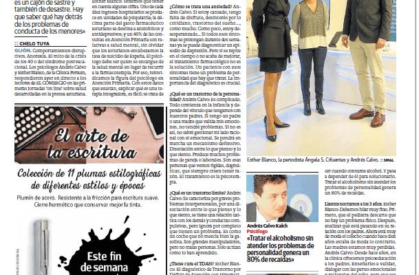 La Clínica Persum entrevistada por El Comercio
