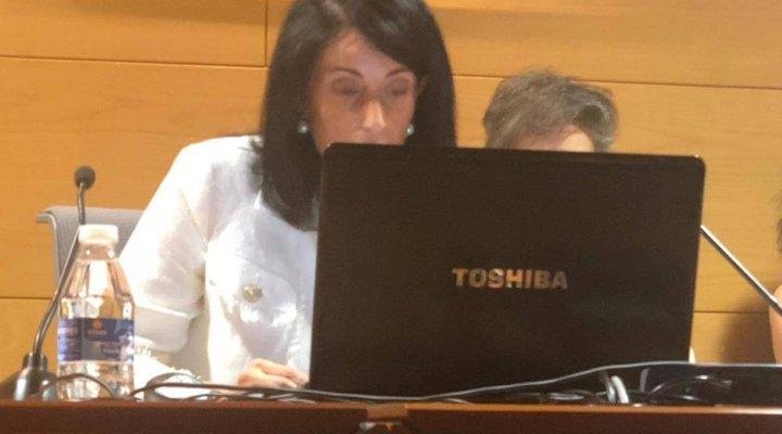 Esther Blanco participa en el I Congreso Internacional de Promoción de la Salud de la Universidad de Oviedo