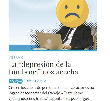 La depresión de la tumbona. Entrevista a la Clínica Persum