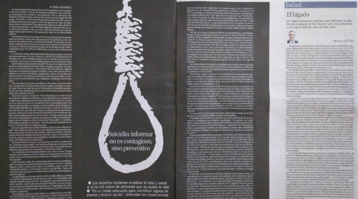 Suicidio: informar no es contagioso, sino preventivo
