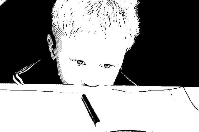 Niño con ADHD